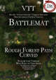 VTT Battlemap - Rough Forest Path Curved