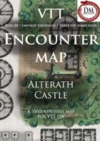 VTT Encounter Map - Alterath Castle