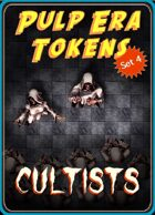 Pulp Era Tokens Set 4: Cultists