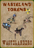 Wasteland Tokens Set 2, Wastelanders