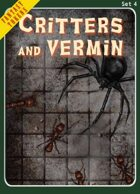 Fantasy Tokens Set 4: Critters and Vermin