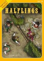 Fantasy Tokens Set 10: Halflings
