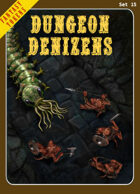 Fantasy Tokens Set 15: Dungeon Denizens