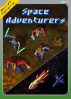 Sci-Fi Tokens Set 3, Space Adventurers