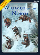 Fantasy Tokens Set 20: Wildmen of the North
