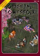 Fantasy Tokens Set 28: Oriental Townsfolk