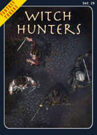 Fantasy Tokens Set 29: Witch Hunters