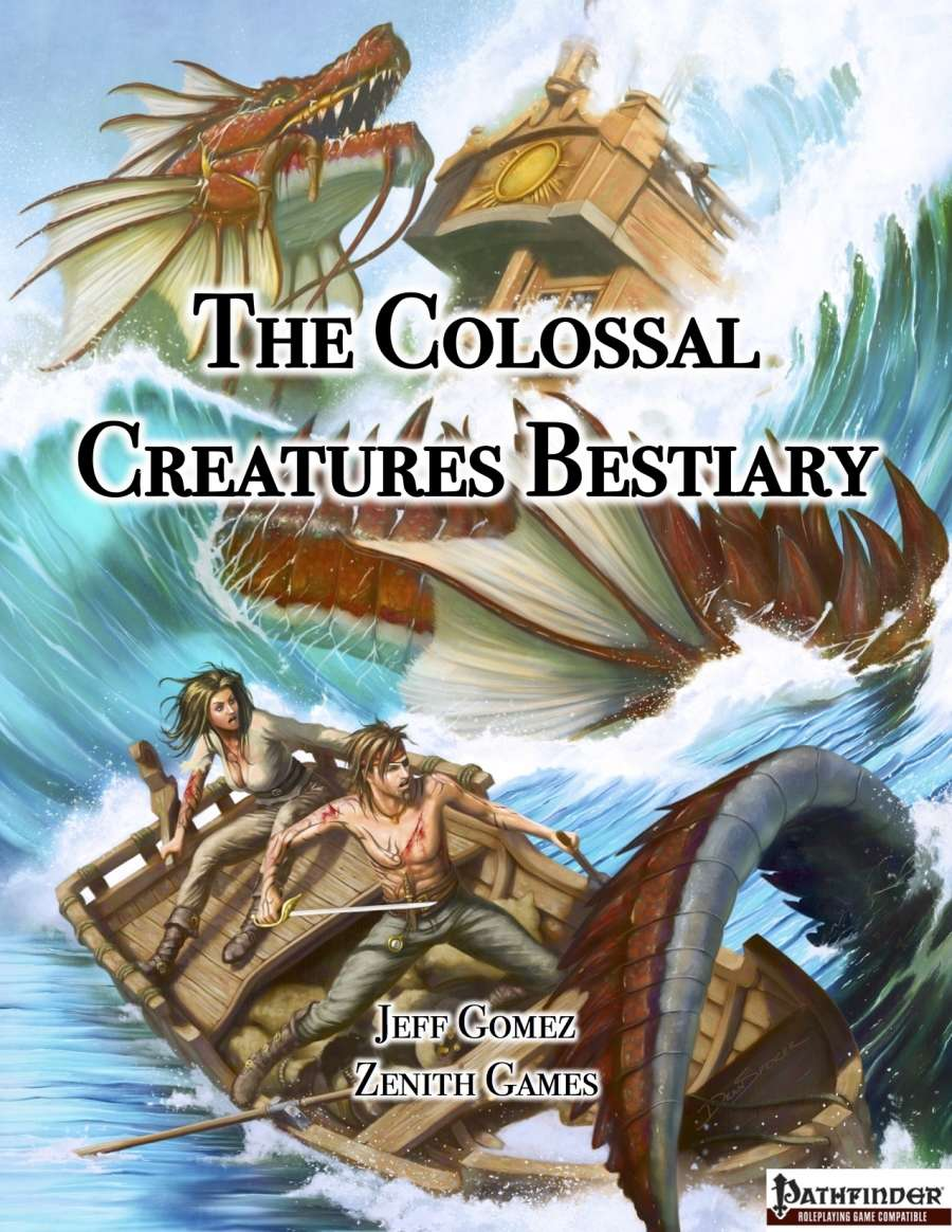 The Colossal Creatures Bestiary