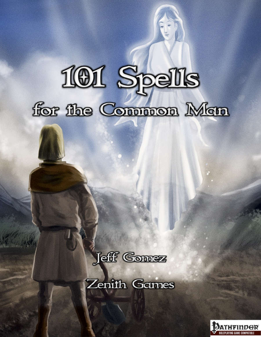 101 Spells For The Common Man Zenith Games Rpgnow Com