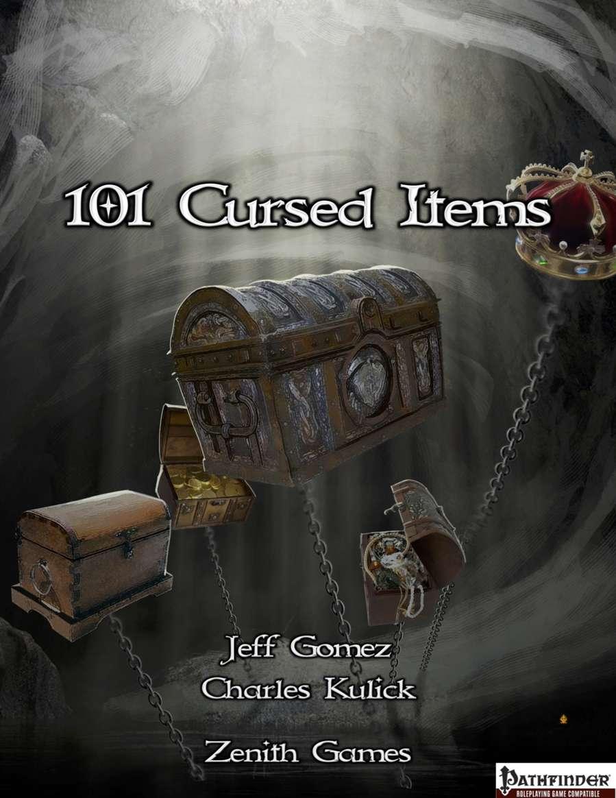 101 Cursed Items - Zenith Games | DriveThruRPG com