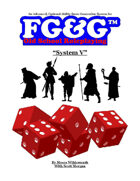 System V: An Advanced, Optional Ability Score Generation System for FG&G