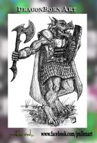 Dragonborn Stock Art