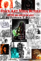 260 Piece Fantasy Stock Art Mega Pack