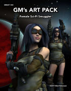 GMART004 Female Sci-Fi Smuggler