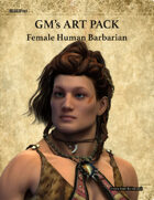 GMART105 Male Human Barbarian