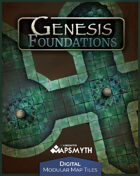 MapSmyth Maps: GENESIS FOUNDATIONS - Modular Dungeon Tiles for VTT