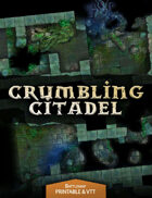 Crumbling Citadel - Printable & VTT Battlemap