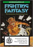 Fighting Fantasy Collector Checklist and Price Guide 2016