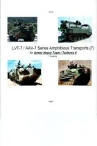 LVT-7 / AAV-7 Amphibious Transports