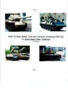 AMX-30 MBT and Variants (Including AMX-32)