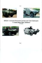 BRDM-1 Armored Personnel Carriers and Tank Destroyers