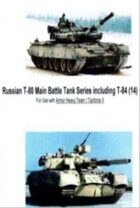 Russian T-80 MBT Series