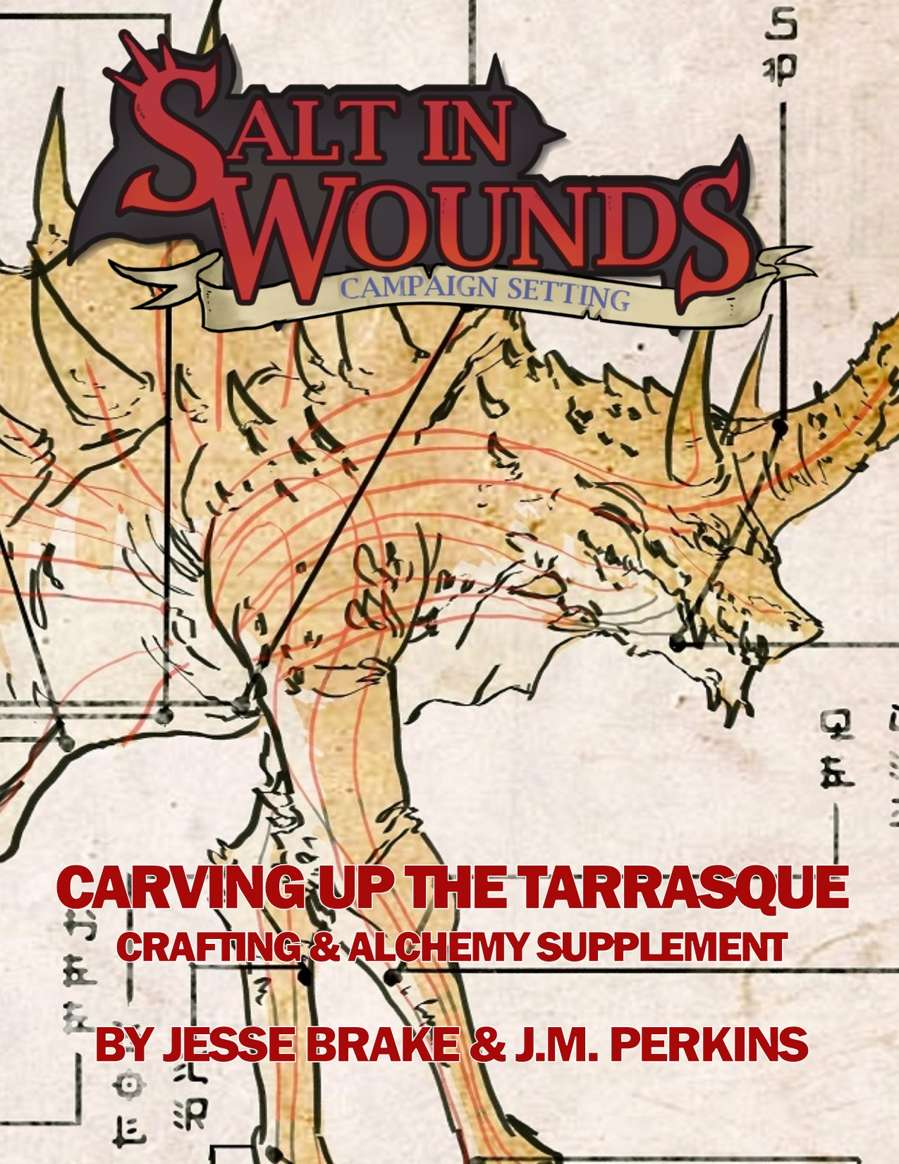 Cover of Carving up the Tarrasque Supplement