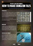 The Golden D6 #2 – Dungeon Tiles tutorial