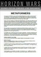 Horizon Wars: Metaformers