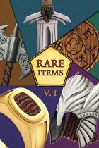 Tales of Quahnarren: RARE items – Volume One
