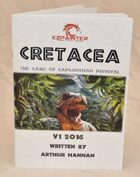 DINOSAUR TABLETOP GAME: Cretacea - The game of gargantuan survival