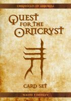 Quest for the Orncryst - Card Set