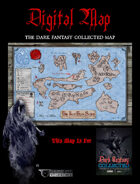 """DIGITAL POSTER MAP - DARK FANTASY COLLECTED - 18"""" x 12"""" in 4 Parts"""
