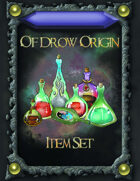 Of Drow Origin Item Cards
