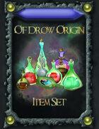 Of Drow Origin Item Cards