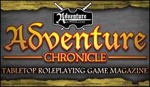 Adventure Chronicle Tabletop RPG Game Magazine