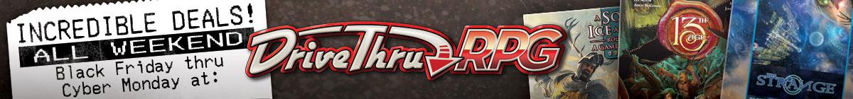 DriveThruRPG's Sales