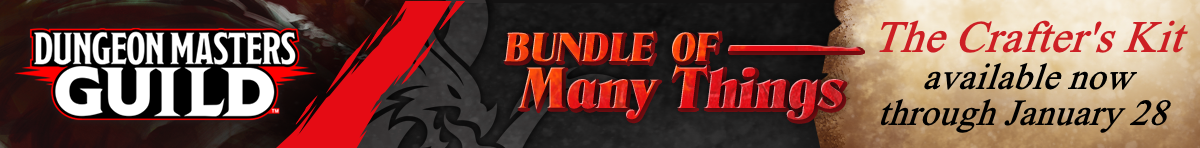 Bundle of Many Things - The Crafter's Kit @ Dungeon Masters Guild