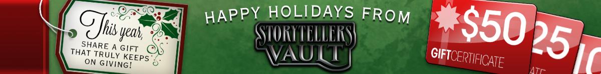 Christmas Gift Certificates @ Storytellers Vault