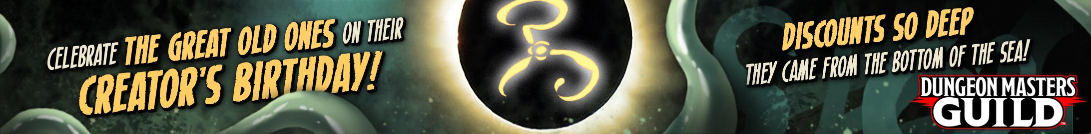 Cthulhu Mythos bundle @ Dungeon Masters Guild