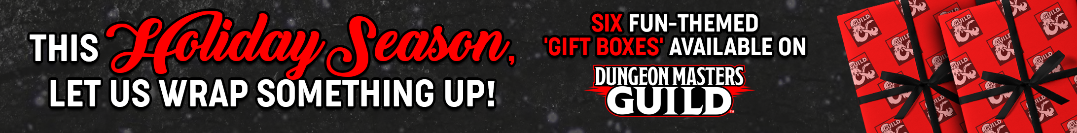 Gift Boxes sale @ Dungeon Masters Guild