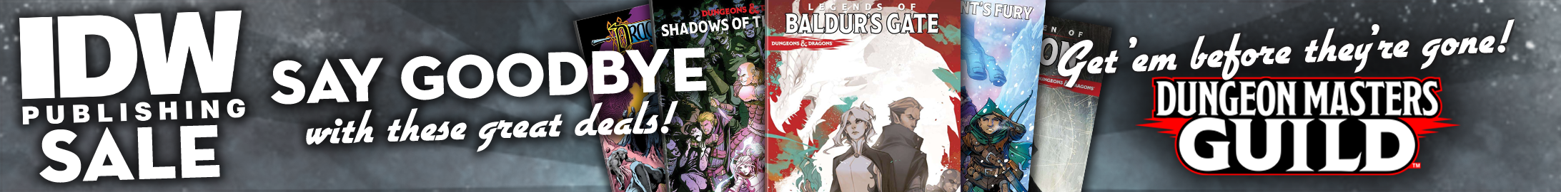 IDW Publishing sale @ Dungeon Masters Guild