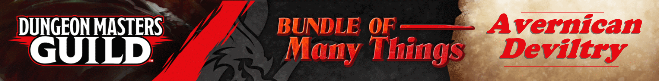 Bundle of Many Things: Avernican Deviltry @ Dungeon Masters Guild