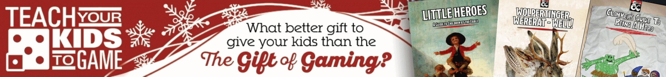 Teach Your Kids Holiday Sale @ Dungeon Masters Guild