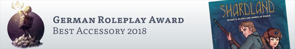 Deutscher Rollenspielpreis - Bestes Zubehoer 2018 @ DriveThruRPG.com