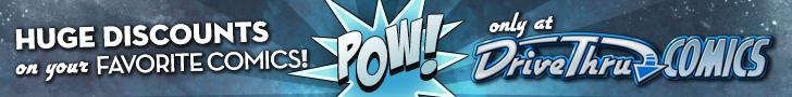 Huge Discounts on your Favorite Comics at DriveThruComics!