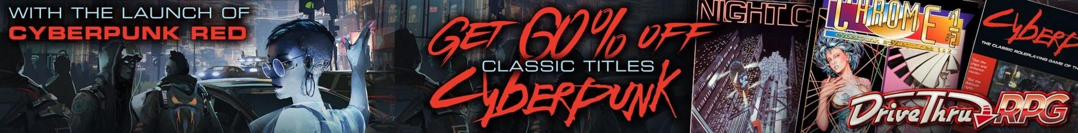 Classic Cyberpunk Sale