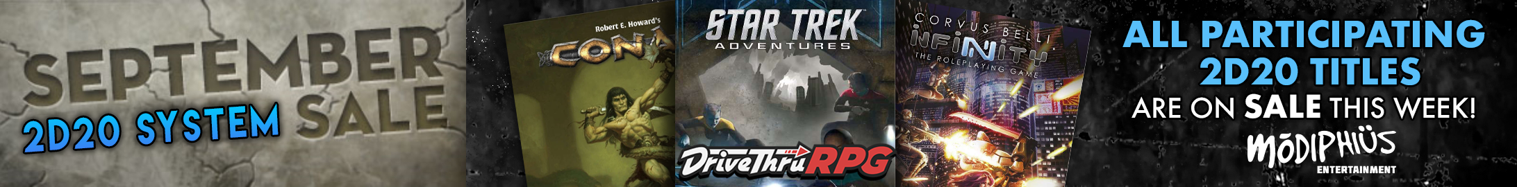 September 2d20 System Sale @ DriveThruRPG.com