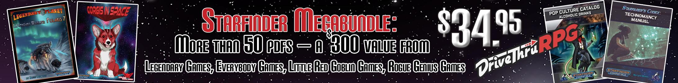 Starfinder Megabundle @ DriveThruRPG.com
