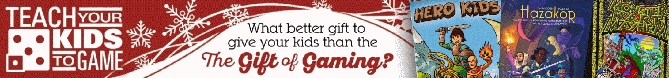Teach Your Kids Holiday Sale @ DriveThruRPG.com